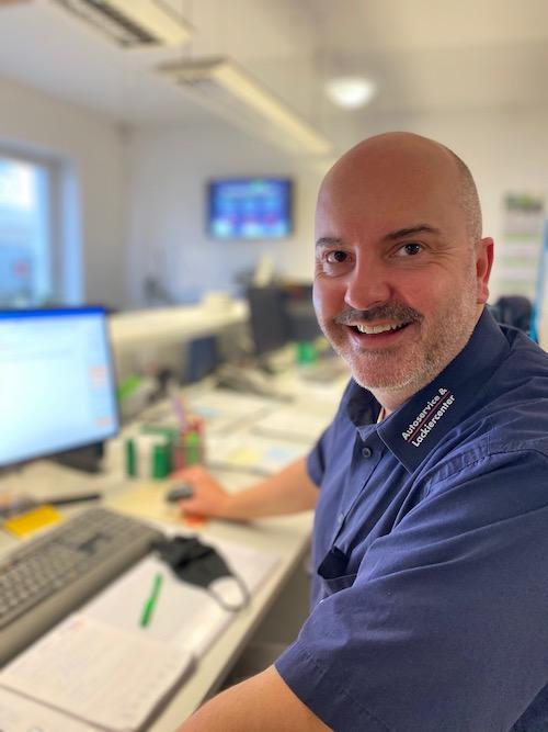 Betriebsleiter Sandro Ulsperger